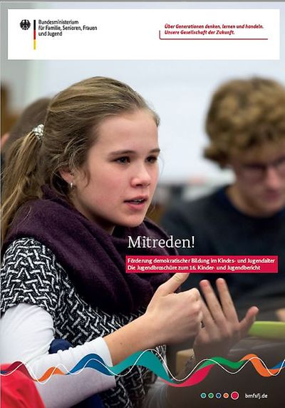 """Jugendbroschüre zum 16. Kinder- und Jugendbericht zum Thema """"Förderung demokratischer Bildung im Kindes- und Jugendalter"""" erschienen"""